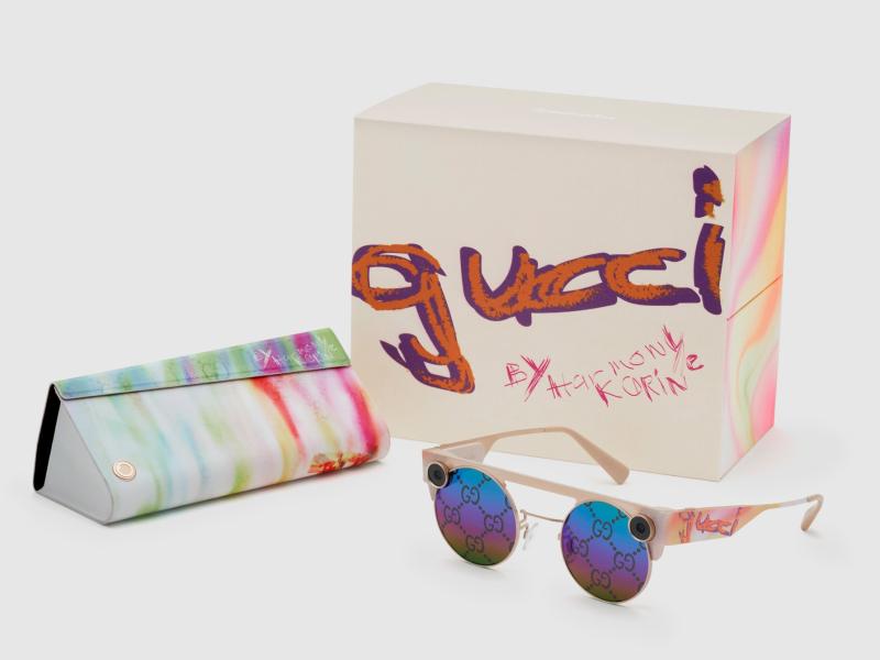 Очки от Gucci с эффектом дополненной реальности и возможностью снимать 3D видео